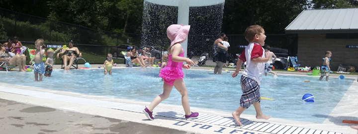 Yorktown Pools are kid approved! Get your Pool Pass and join the fun!