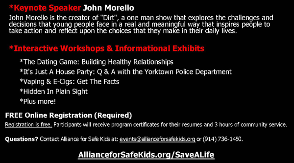 Save A Life | Town of Yorktown New York